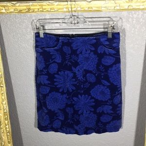 Lilly Pulitzer Blue Skirt Size 4